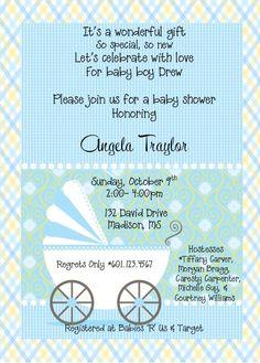 Baby Shower Invite I created