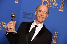J K Simmons won Golden Globe for Best Supporting Actor in a Motion Picture for the film Whiplash in 2015.