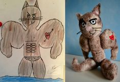 Wendy Tsao transforms children's drawings into adorable plush toys
