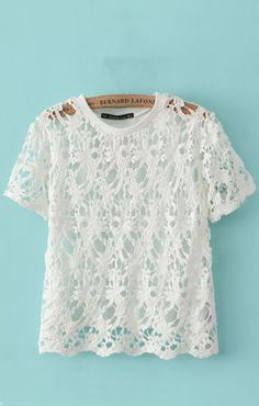 So Pretty!  I love this top!
