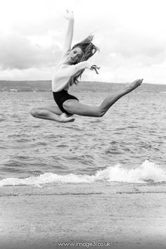 photography photoshoot girl Black and White fashion hip hop style dancing Legs water ballerina ballet dance Dancer Magic beach sand passion long hair jump rocks modelling Pose position leap rachel russell