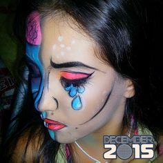 Makeup -Pop Art