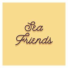 Sea Friends on Behance