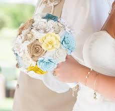 Image result for bouquet to go with yellow dress?