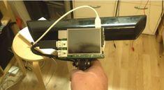 Raspberry Pi 2 + Kinect = scanner 3D