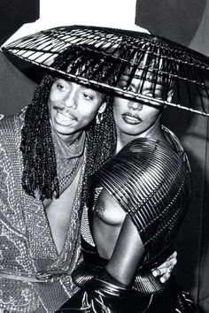 Rick James and Grace Jones, 1983