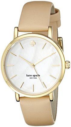 kate spade new york Women's 1YRU0073 Classic Gold-Tone Watch kate spade new york http://smile.amazon.com/dp/B007H13SHC/ref=cm_sw_r_pi_dp_Sebjwb0BK7856