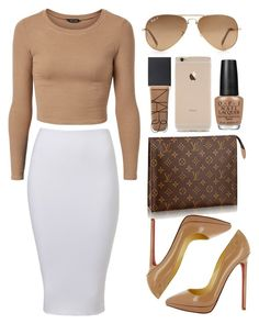 """Original Pin: """"Neutral"""" by pinkamby ❤ liked on Polyvore"""