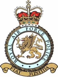 Royal Air Force Police (RAFP) is the service police branch of the Royal Air… Military Insignia, Military Police, Military Aircraft, Us Air Force, Royal Air Force, Raf Bases, The Trooper, British Armed Forces, British Army