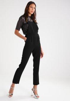 Köp Miss Selfridge Hängselbyxor - black    för 849,00 kr (2017-03-08) fraktfritt på Zalando.se