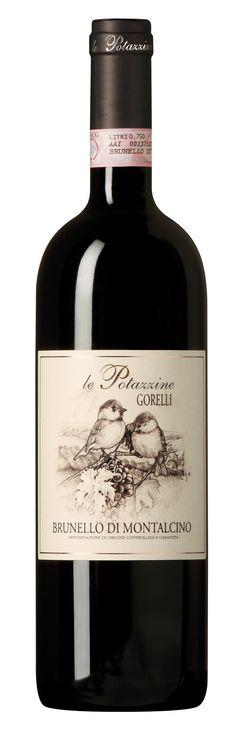 Brunello di Montalcino docg 2007, Le Potazzine #atelierscavistes #italie #wine
