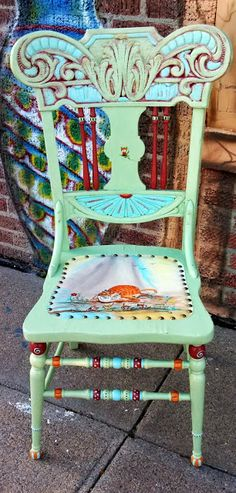 Carolynu0027s Funky Furniture. Whimsical Painted ...