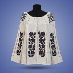 "Блуза вишита жіноча ""Борщівська казка"" 251-ж - Flax.net.ua"