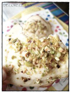 decorecetas: Galletas de pistachos