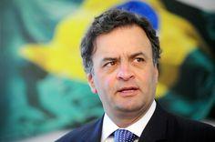 Aécio Neves (PSDB-MG)  um dos campeões de faltas no Senado