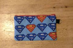 Pencil Case Superman Back to School by Ecilo on Etsy