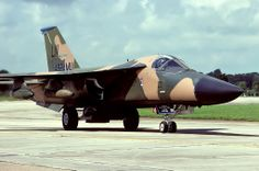 Belonging he 48th TFW, RAF Lakenheath, seen arriving for RIAT 91. Note the special markings for the 492nd Aircraft Maintenance Unit and also the campaign ribbon for bombing operations against Libya during Operation 'Elderado Canyon'