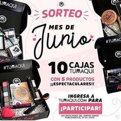 Participa en el Sorteo Internacional de 10 Cajas de Maquillaje con 5 productos@tumaqui - Ingresa a Tumaqui.com Llena el Formulario Acepta la confirmación Los resultados serán publicados en @tumaqui el 30 de Junio  Tumaqui.com  #sorteo #sorteomaquillaje #maquillaje #suscripciondemaquillaje #maquillajemensual  #enviogratis #freeshipping #makeupbox #enviointernacional