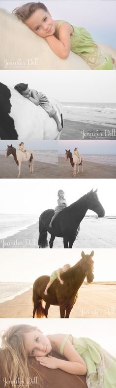 oh!...this would be Selah's dream photo shoot!  If only we had a horse and lived by a beach.  :p