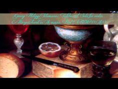 Georg Philipp Telemann: 'Tafelmusik' Solo for violin & Harpsichord in A ...