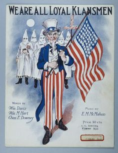 Ku klux klan essay The Ku Klux Klan is a native-born American racist terrorist organization that helped overthrow Republican Reconstruction governments in the South after the Civil War. Us History, Black History, American History, American Flag, Ku Klux Klan, Confederate Flag, In This World, Sheet Music, 1920s