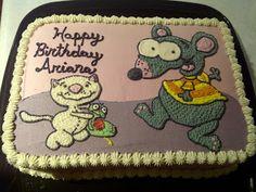 toopy and binoo cake Cake Decorating, Birthdays, Anniversary, Cartoon, Baking Ideas, Sweet, Happy, Birthday Ideas, Tv