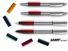 Lamy Accent 2015 - Special Edition  #Lamy #accent #Lamyaccent #fountainpen #fountainpens #ballpointpen #roller #specialedition #2015 #casadellastilografica