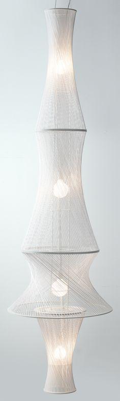 Casiopea :: miGUEL HERRANZ for UNO-design #light #design/made with string art design?