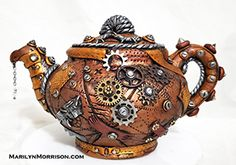 Marilyn Morrison - Polymer Clay Artist Polymer Clay Creations, Steampunk Fashion, Artist, Style, Swag, Artists, Steampunk Couture, Outfits