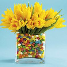 Easter Jelly Bean Centerpiece