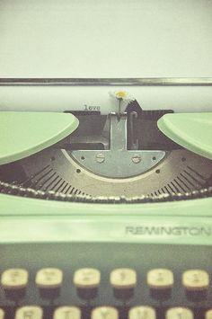 Maquina de escribir♥