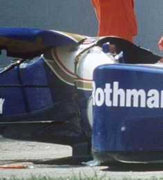 Senna's Williams Broken Monocoque