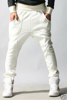 Спортивные мужские штаны с мотнёй