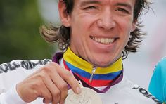 Rigoberto Uran cyclist from the Antioquia region of Colombia. Won silver medal at the Olympics Colombian People, Colombian Culture, Spanish Speaking Countries, Thirty Two, Pro Cycling, How To Speak Spanish, The Republic, Countries Of The World, Olympic Games
