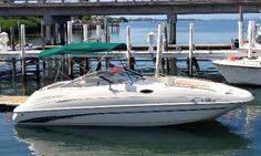 24' Monterey Deck Boat Charter In Florida