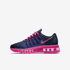 Nike Air Max 2016 Print (3.5y-7y) Kids' Running Shoe