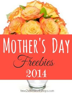 Starbucks BOGO and lots more Mother's Day Freebies 2014