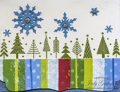 A blast from the past with Deck the Halls paper pack and a clear card