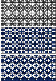 For Tapestry Crochet Fair Isle Knitting Patterns, Fair Isle Pattern, Crochet Stitches Patterns, Knitting Charts, Weaving Patterns, Knitting Stitches, Cross Stitch Patterns, Filet Crochet, Crochet Chart