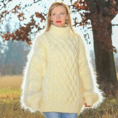 Mohair Sweater, Cable Knit Sweaters, Red T, Cute Sweaters, Hand Knitting, Online Price, Jumper, Fur Coat, Turtle Neck