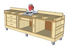 YAWB - Yet Another Workbench (Or My Take on the Ultimate Tool Stand) - by mrhammerstein @ LumberJocks.com ~ woodworking community