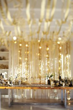 A New Years Eve Gold Rush Party | The Sweetest Occasion