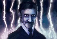 #JUEGOS #HISTORIA #ARSUNIVERSALIS #CROWDFUNDING - Boceto de lo que será la ilustración de la carta de Nikola Tesla. Ars Universalis es un divertido juego de mesa para toda la familia en el cual nos metemos en el papel de los grandes artistas y pensadores de la Historia, desde la Edad Media hasta el presente. Crowdfunding Verkami: http://www.verkami.com/projects/9802-ars-universalis/