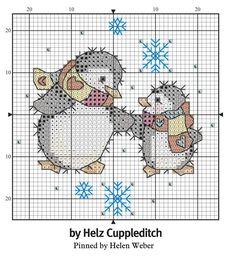 Cross Stitch Christmas Cards, Xmas Cross Stitch, Cross Stitch Cards, Cross Stitch Baby, Cross Stitch Animals, Cross Stitching, Cross Stitch Embroidery, Christmas Cross, Cross Stitch Designs