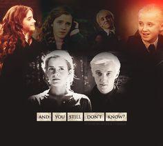 This is awful. I don't ship Malfoynwitj amyone, especially not Hermione, although I know Emma had a crush on him....