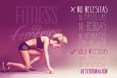 ¡Si lo tienes claro, ya tienes gran parte del camino hecho! Fitness en Femenino, Fitness motivación Body Combat, Work Life Balance, Take Care Of Yourself, Stress Relief, Fitspiration, Healthy Life, Health Fitness, Fitness Life, Lose Weight