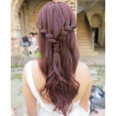 Prewedding hairdo, bride: AiLee  Cute sided French braid #cute #girl #braids