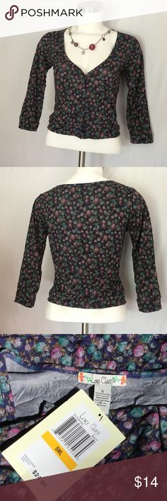 Love Change Floral Crop Jacket NWT  Love Change Floral Crop Jacket. New With Tags. Perfect for Fall!! Jackets & Coats