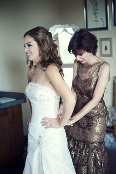 Lady Bird Johnson Wildflower Center Wedding By Nathan Rus Photography Mother Daughter