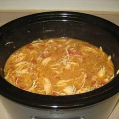 """Another Budget Friendly Paleo Meal by Erika: """"Creamy"""" Chicken Tomato Crockpot Soup"""